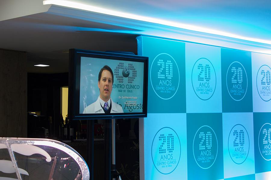 Apresentação do vídeo institucional - 20 Anos CCMD