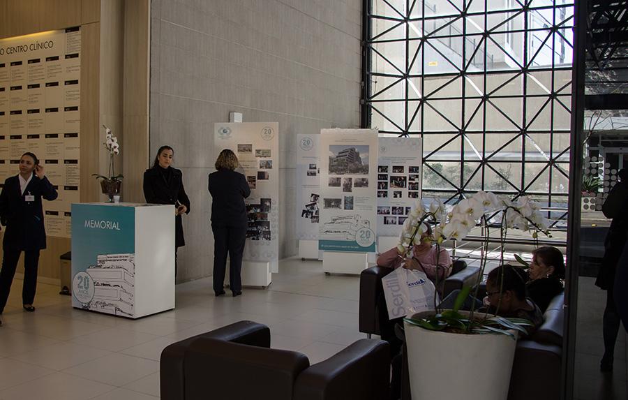 20 Anos Centro Clínico Mãe de Deus - Memorial e painéis